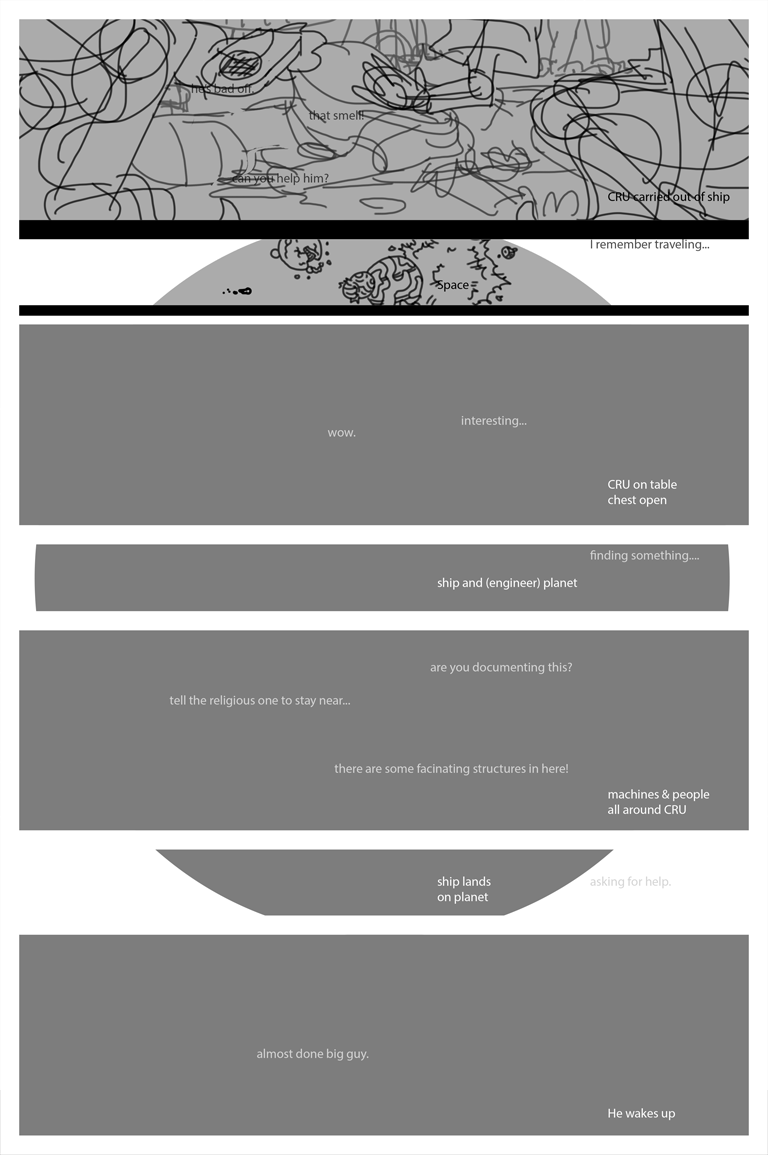 finite page one of episode three