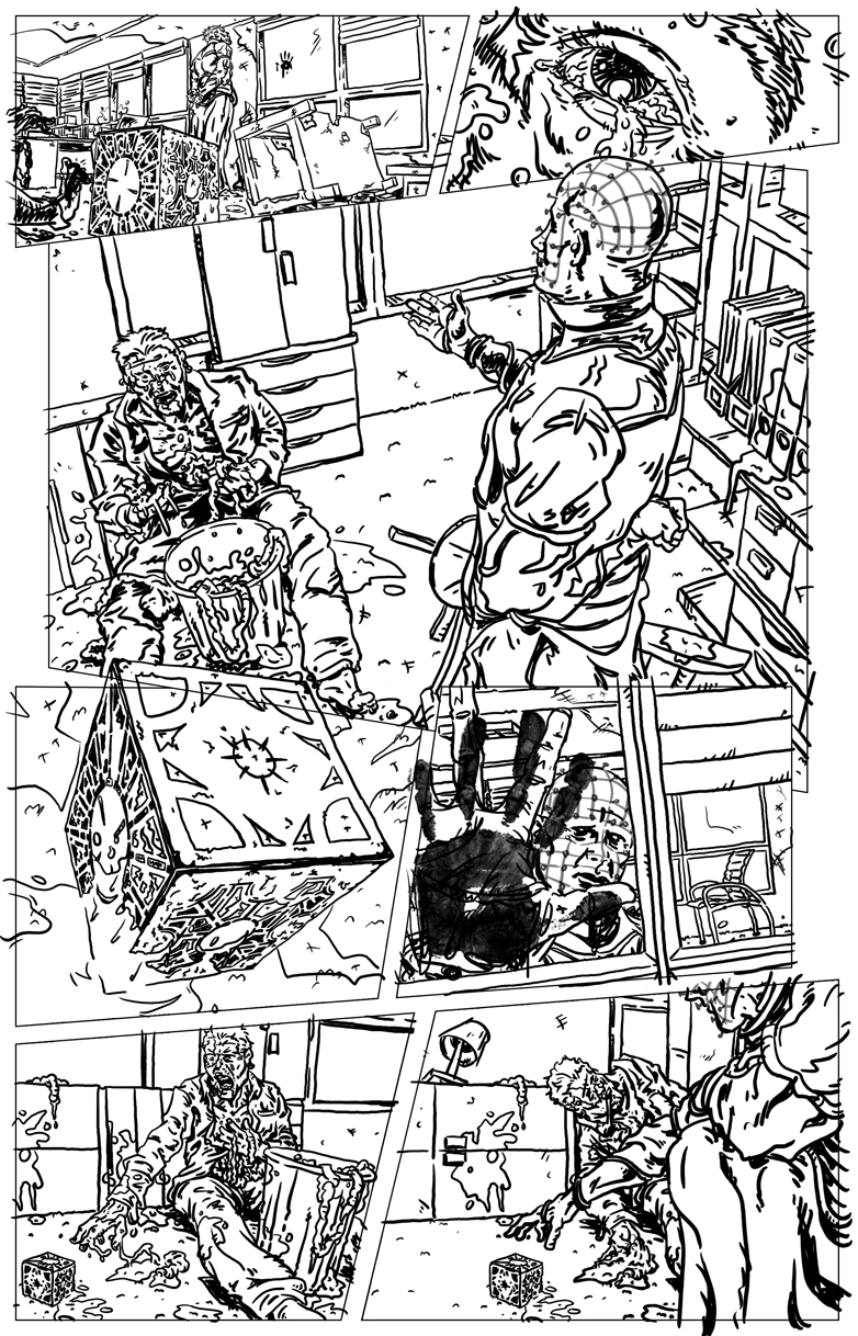 Hellraiser -roughs