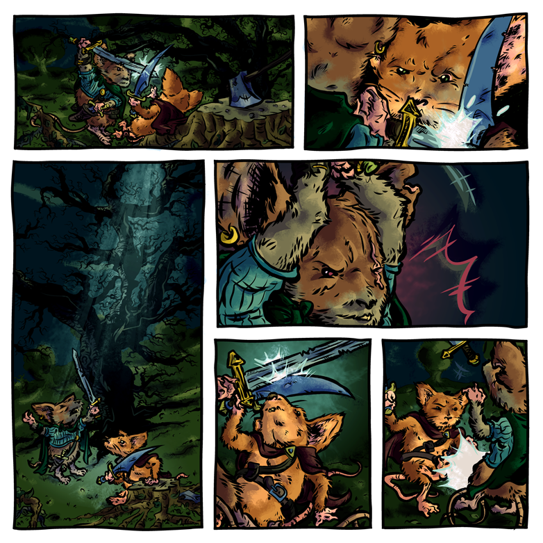 Mouseguard colors